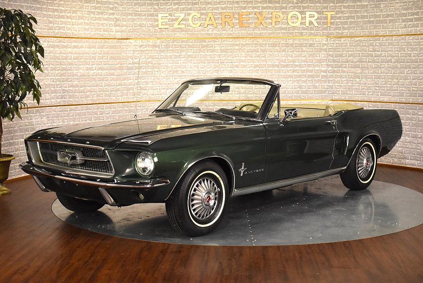 Mustang 1967 / CODE C V8 289ci / A RESTAURER