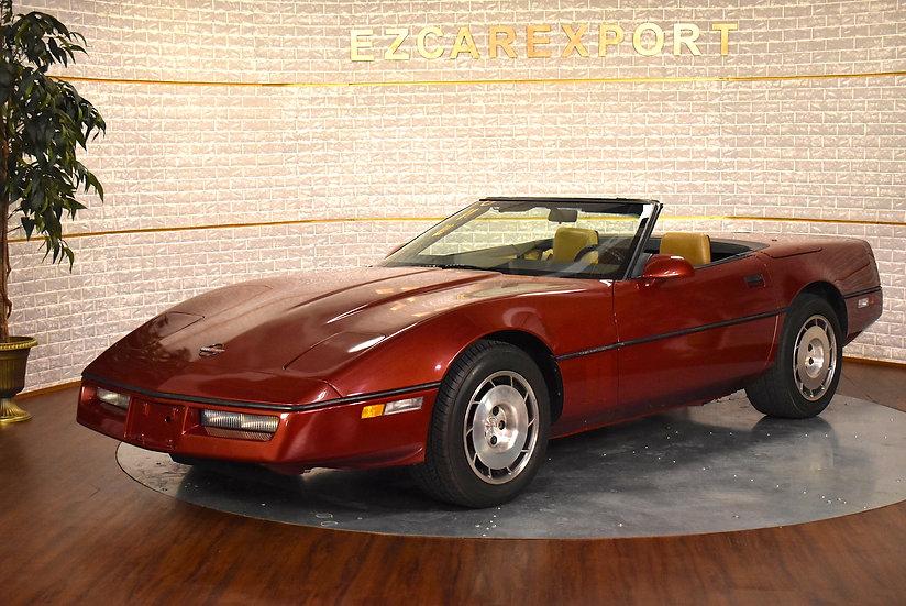Corvette cabriolet de 1986