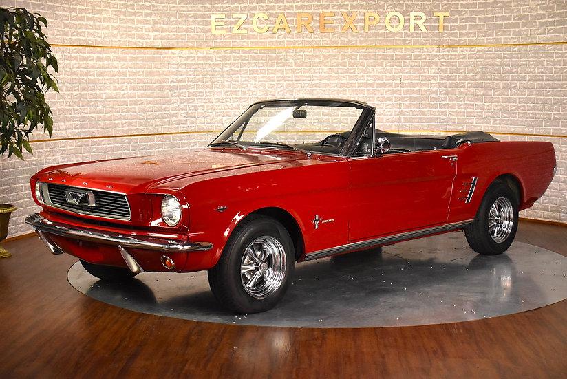1966 Mustang convertible / V8 289ci