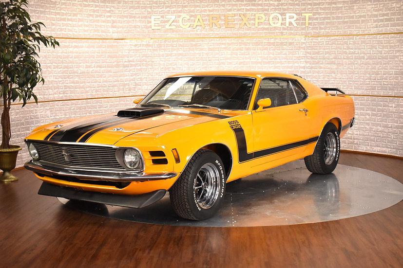 BOSS 302 de 1970
