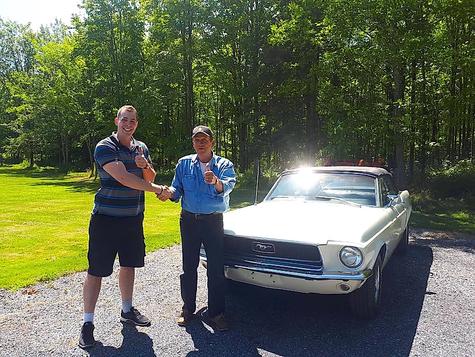 1968 Mustang from John