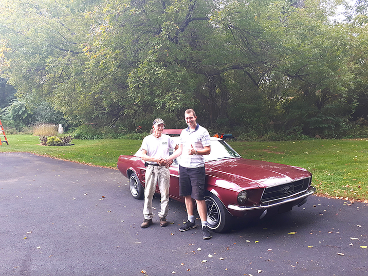 1967 Mustang from John