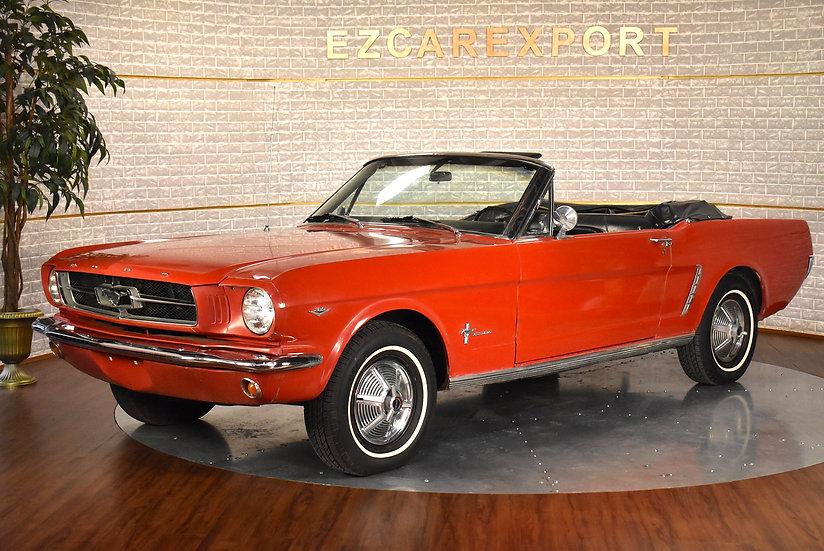 Mustang 1965 cab code C / sortie de grange