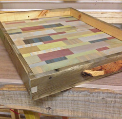 patchwork collage tray 2015