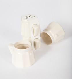 5 oz, stacking demitasse - stoneware