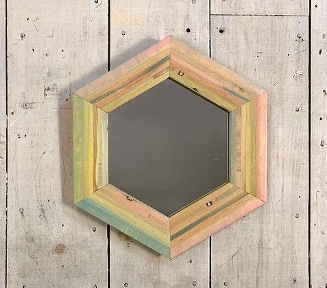 Hex Mirror  ~  Series I 6/6  ~  ~     * S O L D *