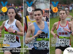 Championnats de France du 10 000m de Pacé 2020