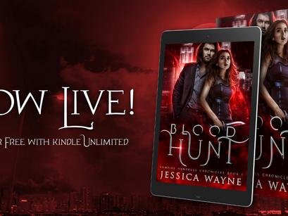 Hunting Vampires is her legacy...Blood Hunt is now live! Sneak Peek!