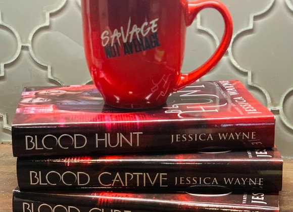 Savage Not Average Blood Hunt Mug