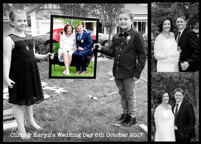 Keryn & Chris's Wedding Day!