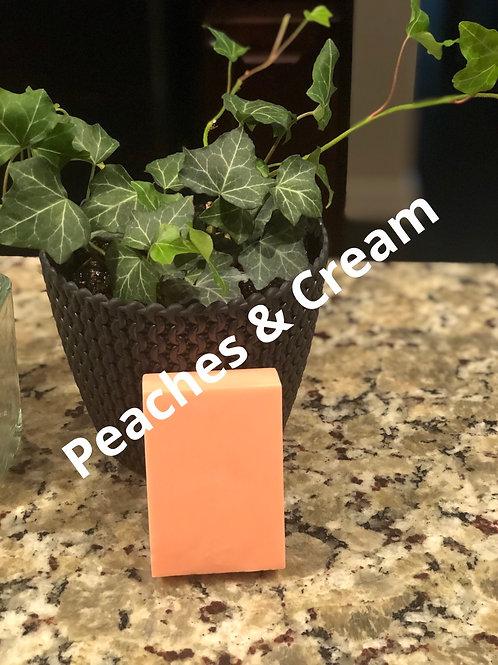 Peaches & Cream Body Soap