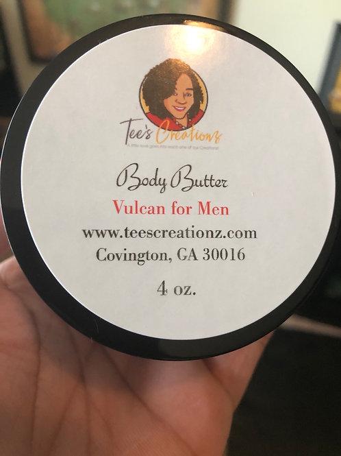 Vulcan for Men Body Butter