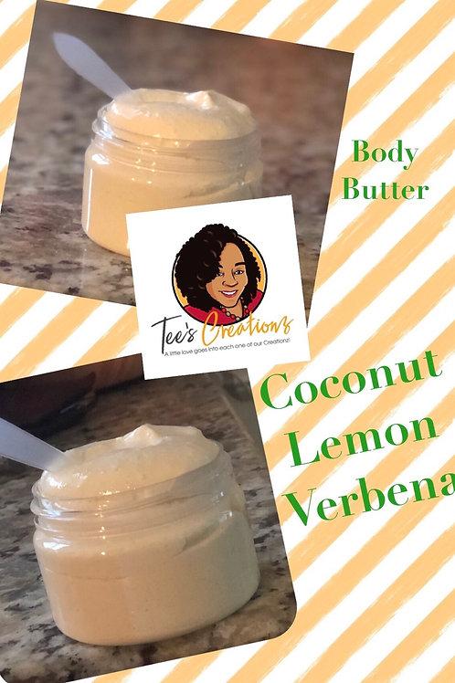 8 oz Coconut Lemon Verbena Body Butter