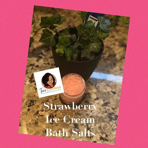 Strawberry Ice Cream Bath Salts