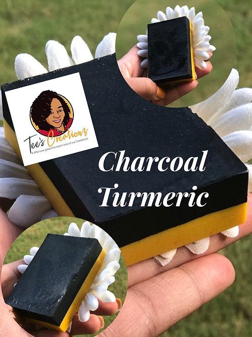 Charcoal Turmeric Soap