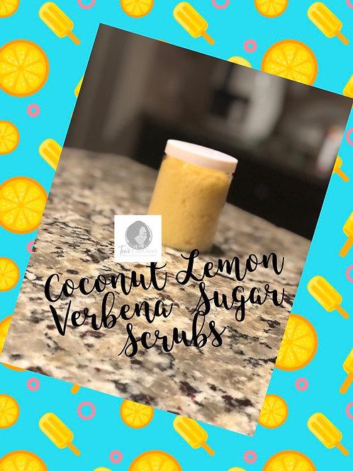 8 oz. Coconut Lemon Verbena Sugar Scrubs