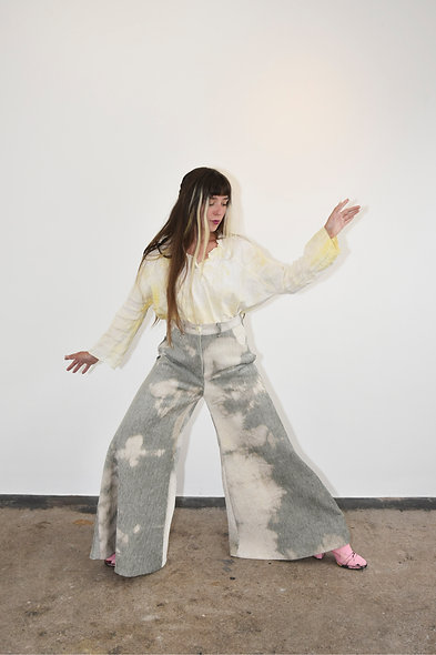 Cloud Cord Baggy Grunge Trousers