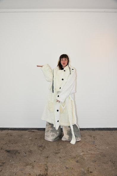 White Snow Coat