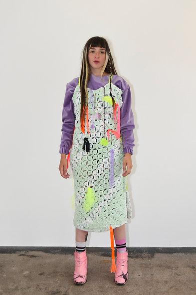 Trippy Crochet Dress