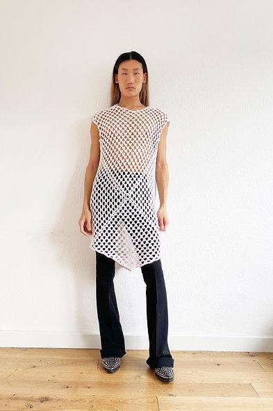 Marshmallow Crochet Dress