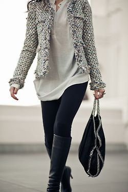Great jacket and boots
