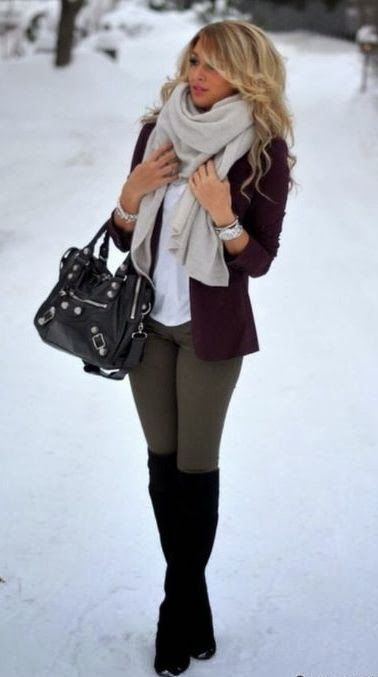 perfect bag and boots