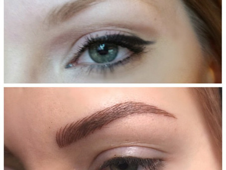 Microblading your brows