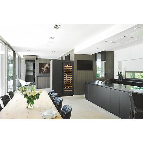 EuroCave V-INSP-L-amb-cuisine-noir-wenge