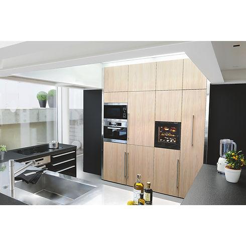EuroCave V-INSP-XS-amb-cuisine bois-noir