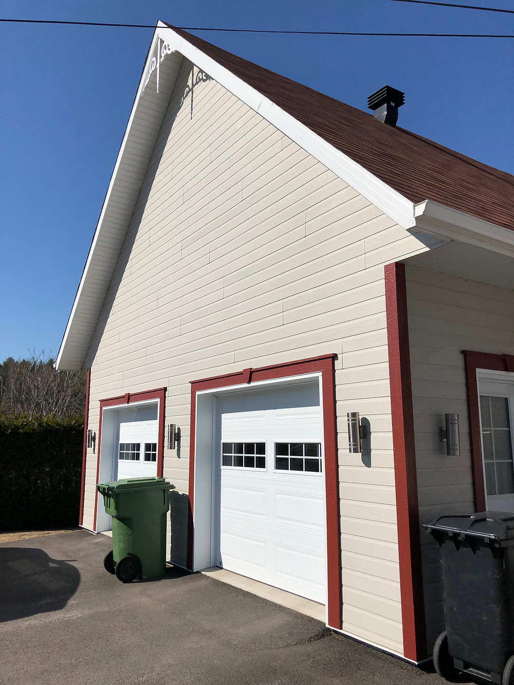 Construction Pagé, Agrandissement maison garage, Pont-Rouge, Québec3