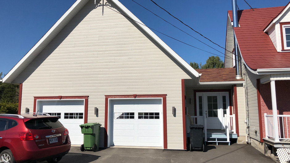 Construction Pagé | Garage extension  maison | Pont-Rouge, Québec