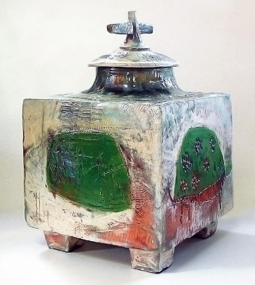 Ceremonial urn - one of a kind