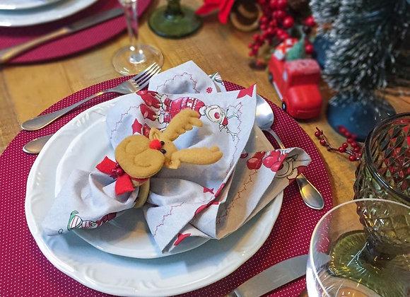 Kit mesa posta natal rena