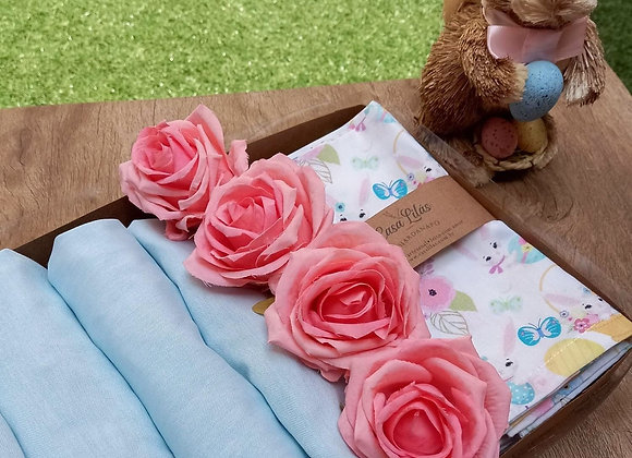 Kit mesa posta Blue Rose