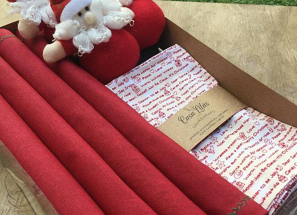Kit mesa posta Natal Papai Noel