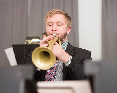 Raleigh-based trumpet player Paul Roger