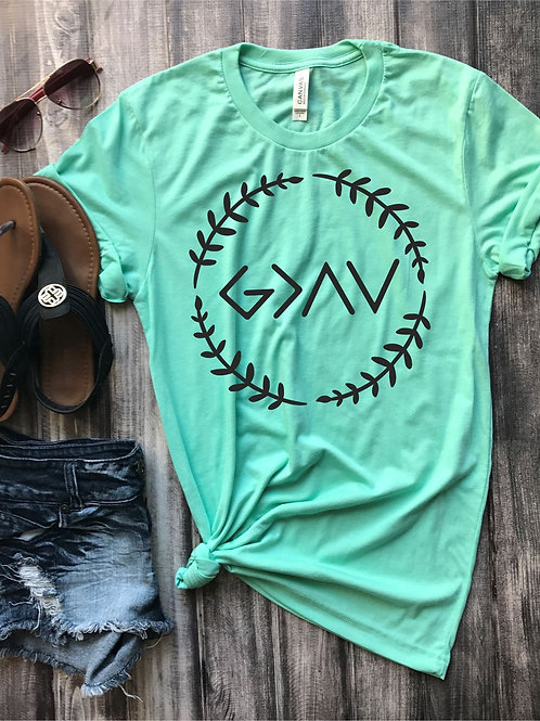 God is Greater than Highs or Lows Tee