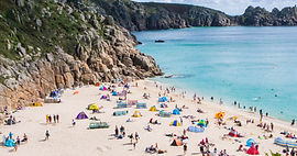 Красочный пляж