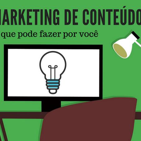 Quer saber o que é Marketing de Conteúdo?