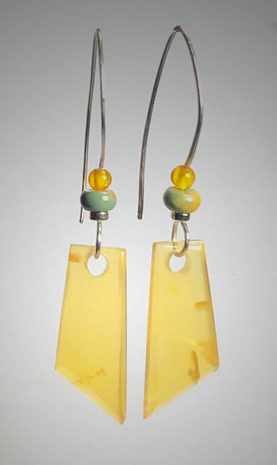 stone earrings cut juniper ridge golden