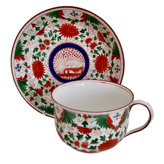 Minton teacup Crazy Cow