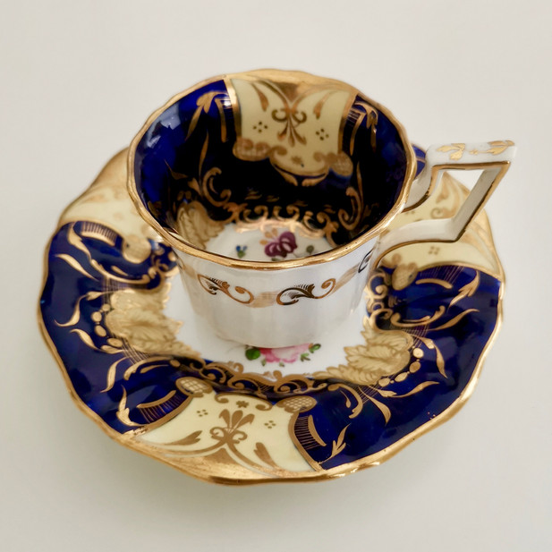 Davenport coffee cup, ca 1825