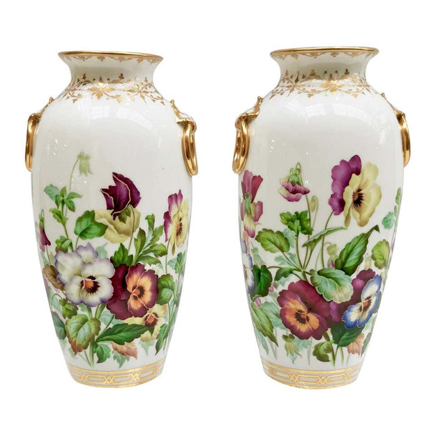 Minton vases Jesse Smith