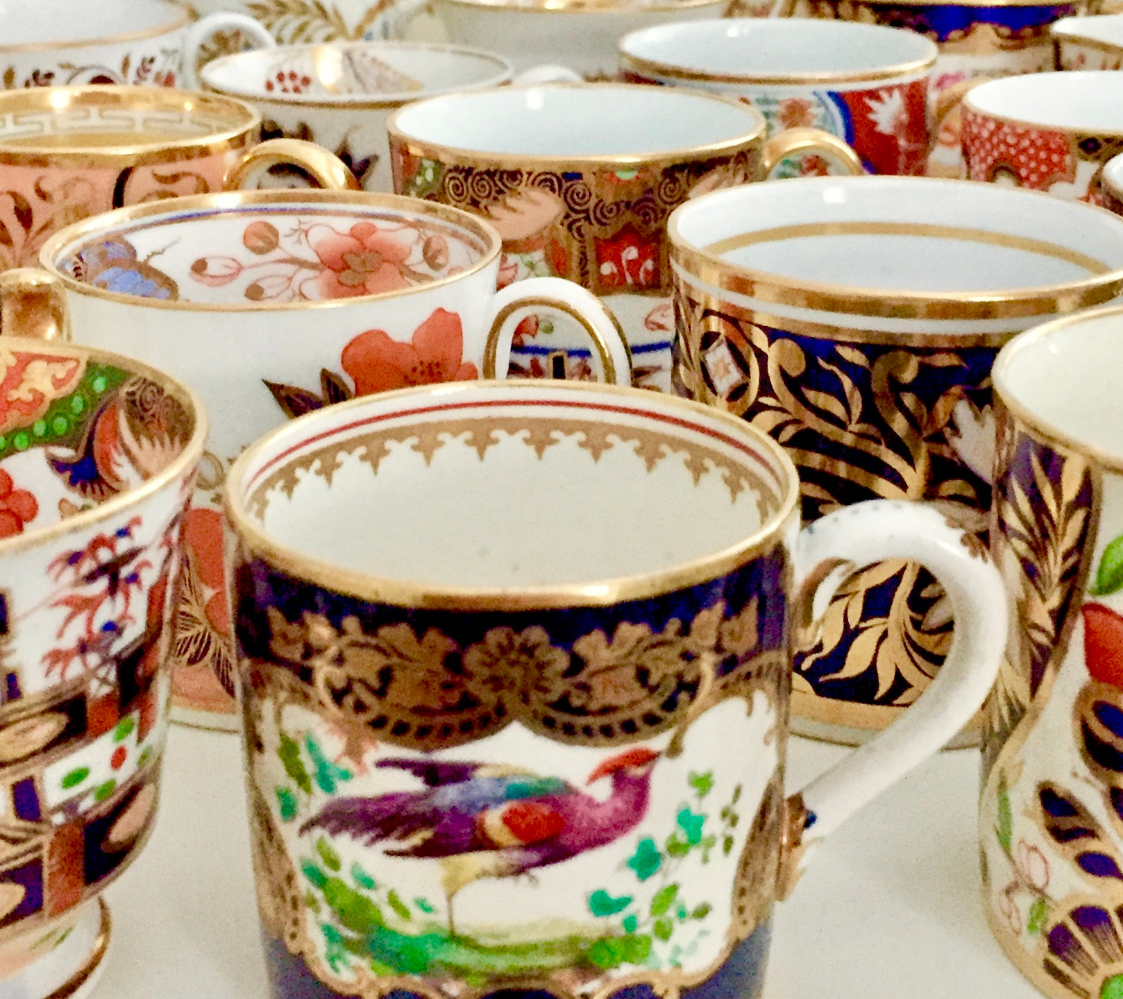 orphaned coffee cups