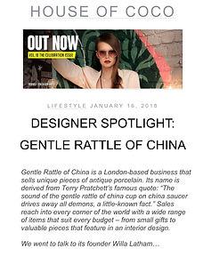 Designer Spotlight House of Coco