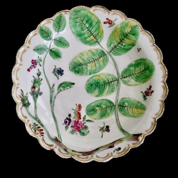 Worcester Blind Earl plate