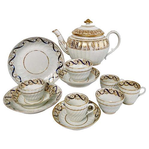 Coalport John Rose tea service, ca 1795