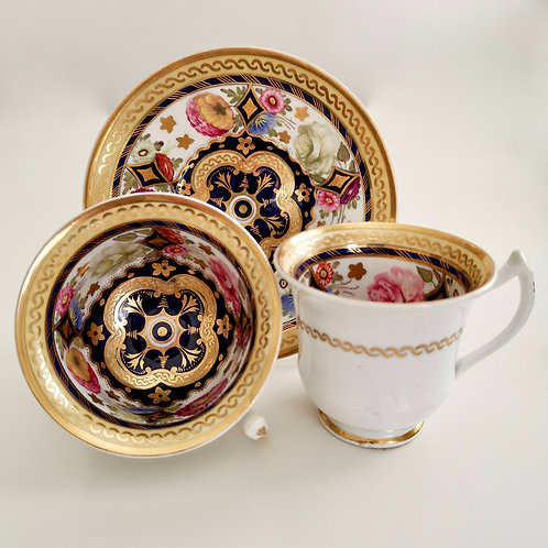 Rathbone trio, Persian-style pattern 369, ca 1820