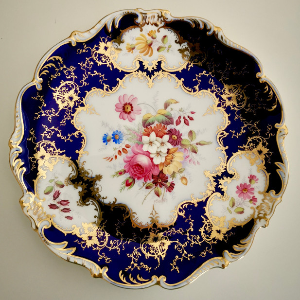 Coalport plate for Harrods