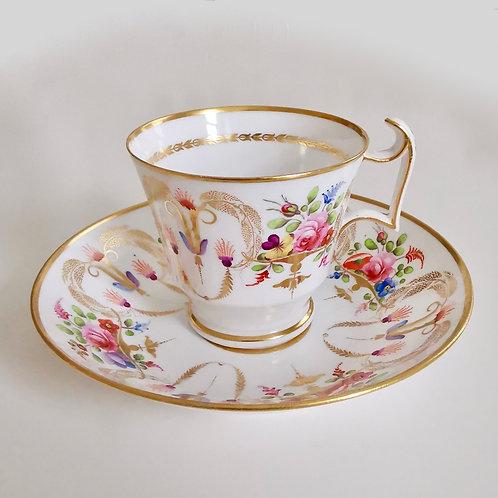 Spode coffee cup, polychrome patt. 2777, 1818